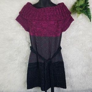 Derek Heart Sweater Dress Tunic